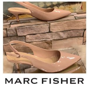 Marc Fisher Kitten Heel Pumps